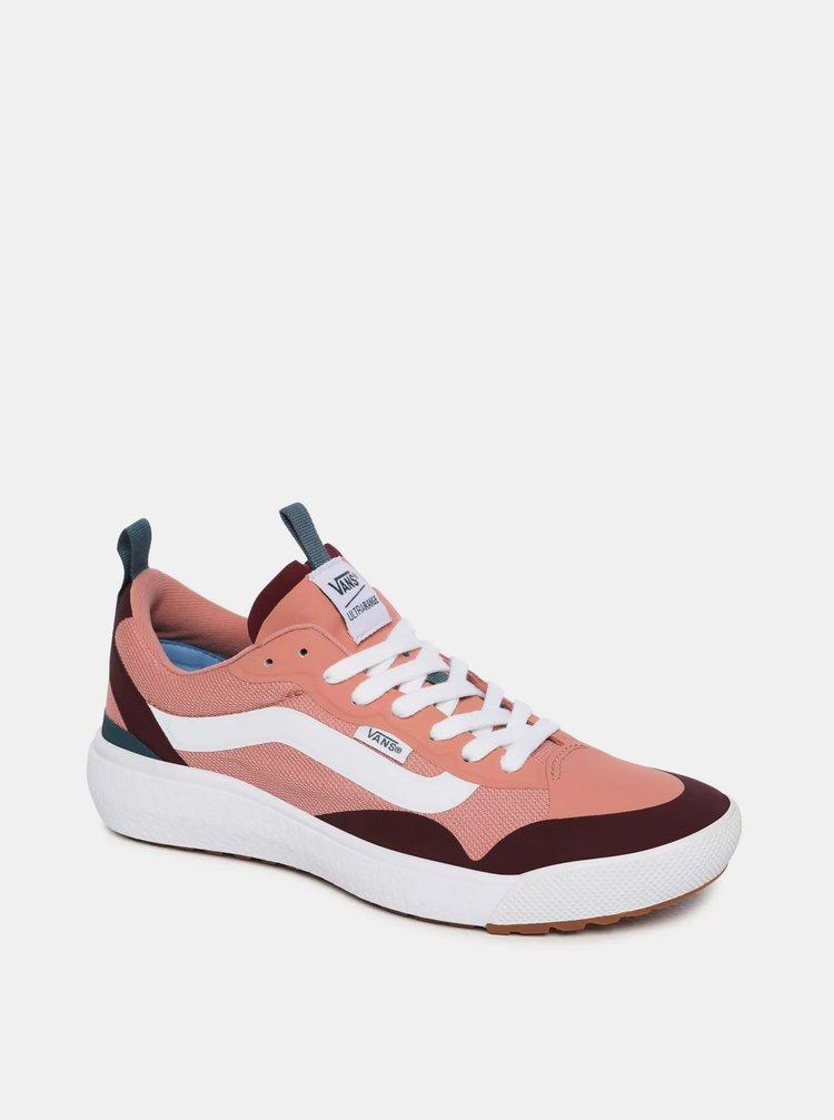 Růžové dámské tenisky VANS Ultrarange Exo