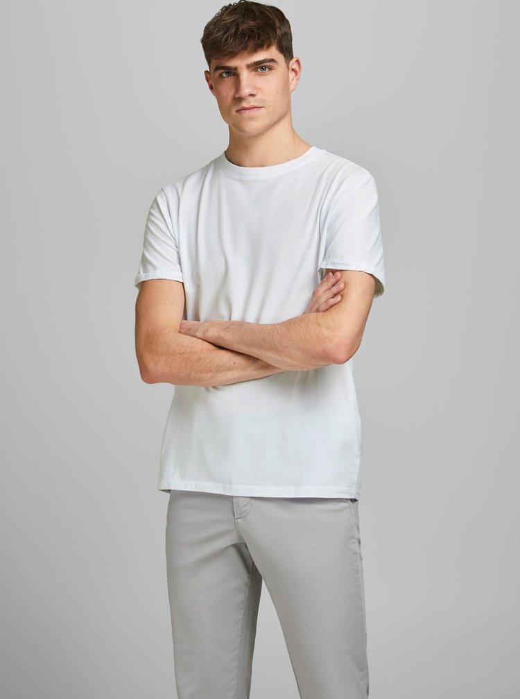 Bílé basic tričko Jack & Jones