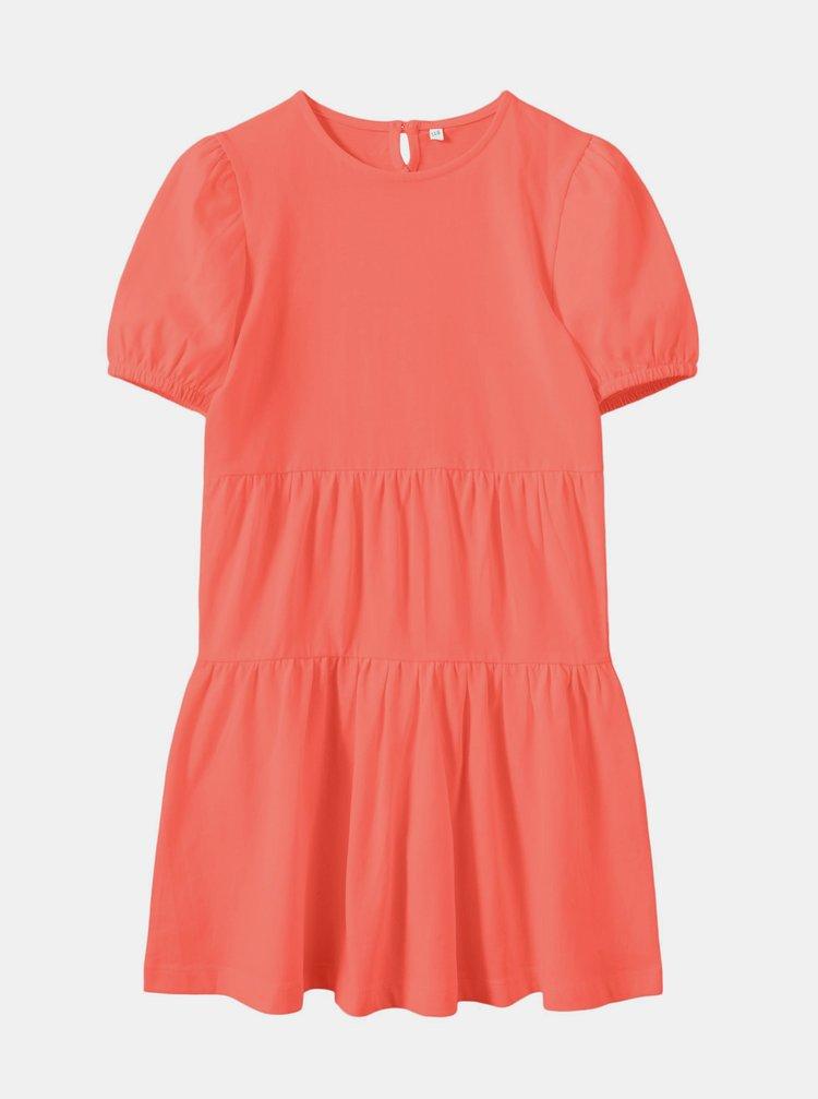 Koralové dievčenské šaty name it Vivaldi