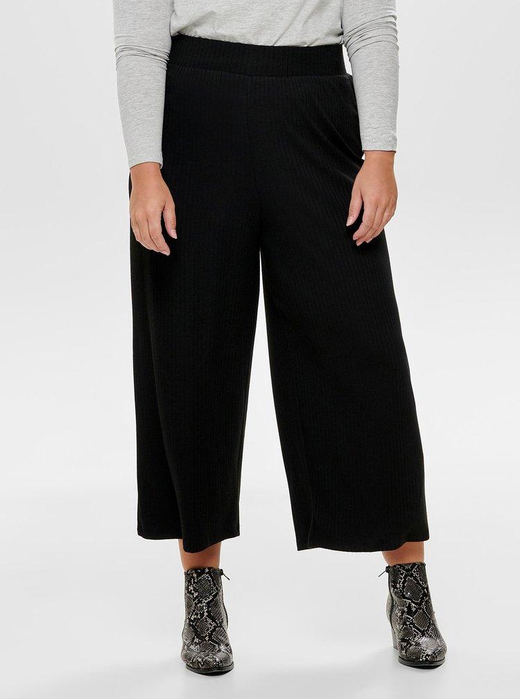 Černé culottes ONLY CARMAKOMA Hawit