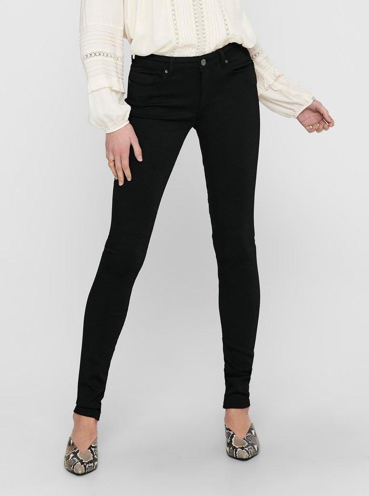 Černé skinny fit džíny ONLY Asmin