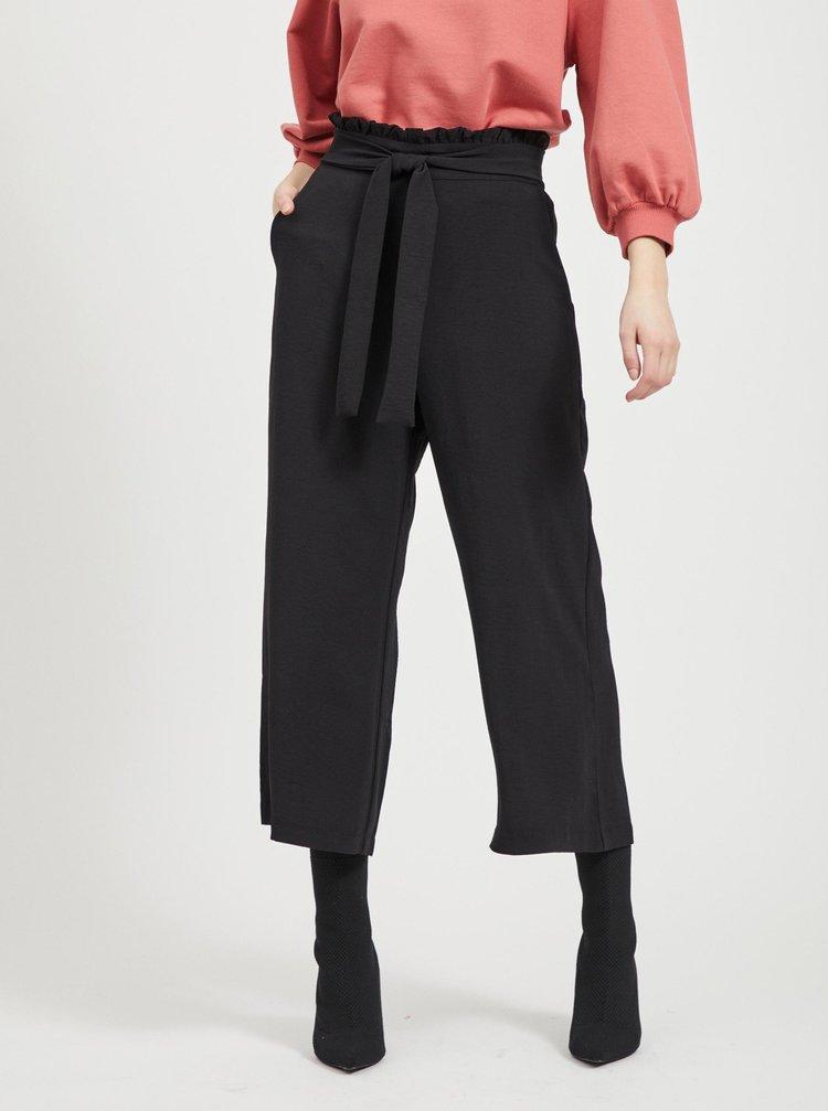 Černé culottes VILA