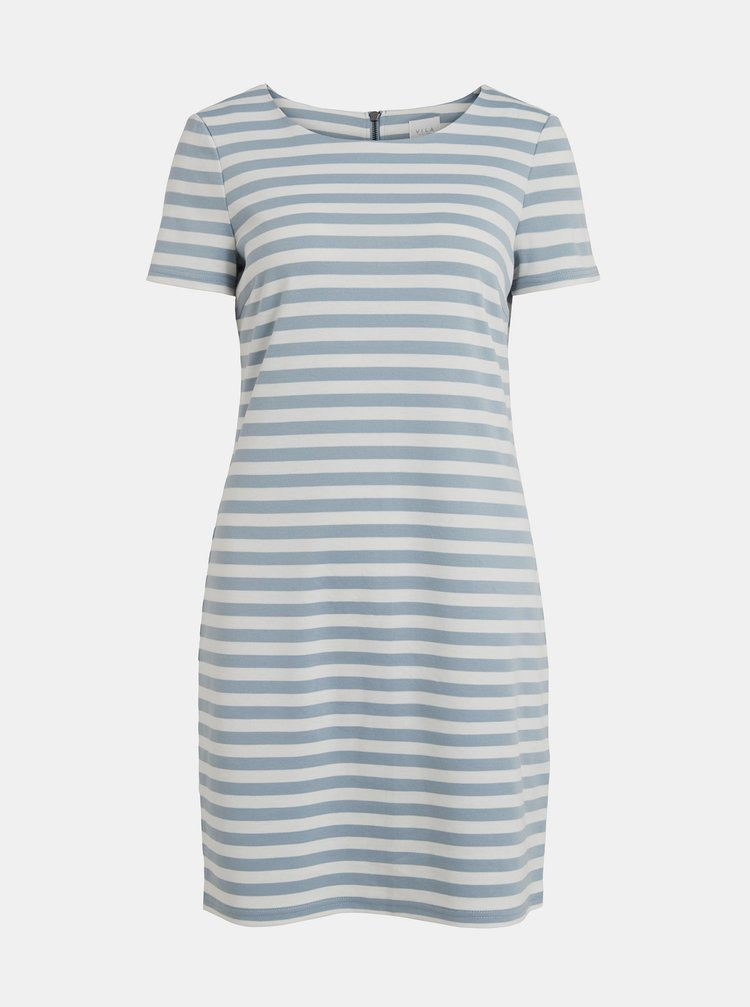 Modré šaty VILA