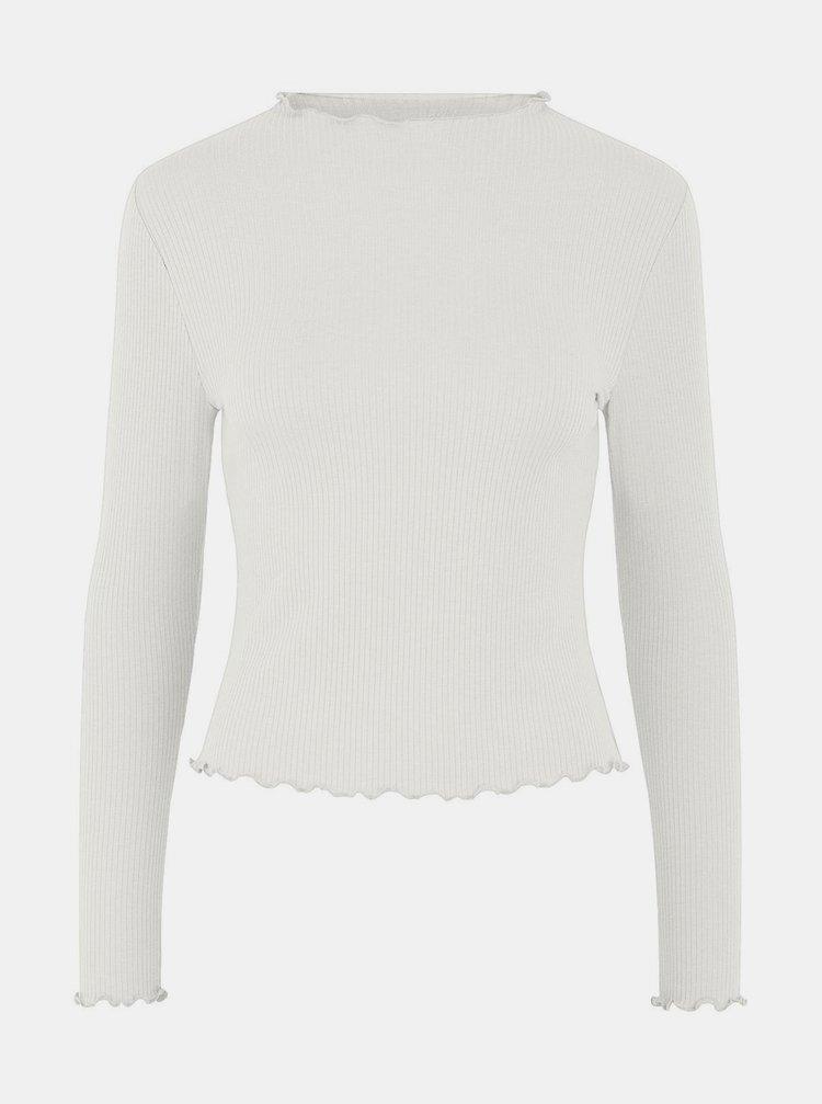 Bílé tričko Pieces Tulle