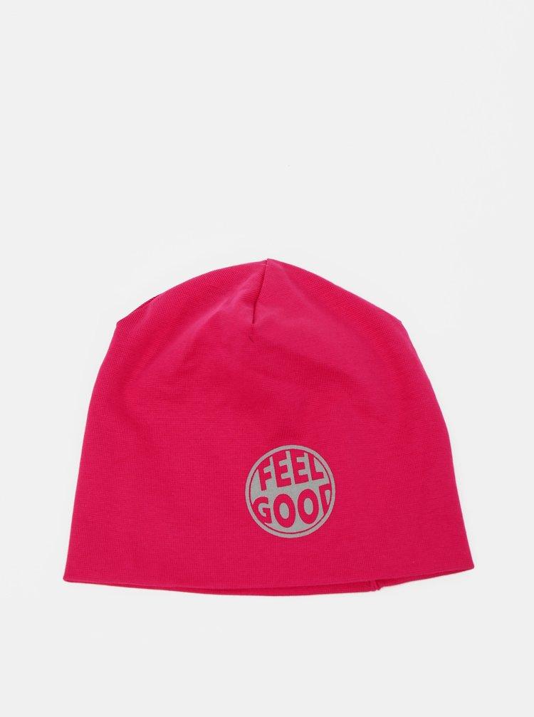 Růžová holčičí čepice name it