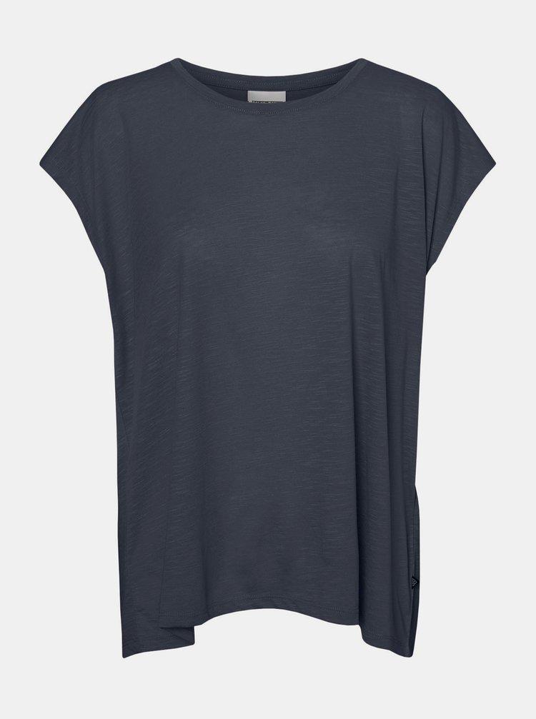 Tmavě modré tričko Noisy May Mathilde