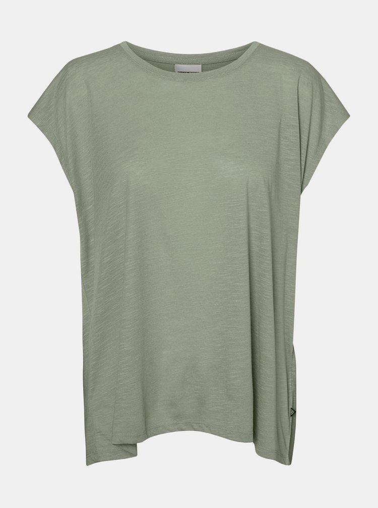 Zelené tričko Noisy May Mathilde