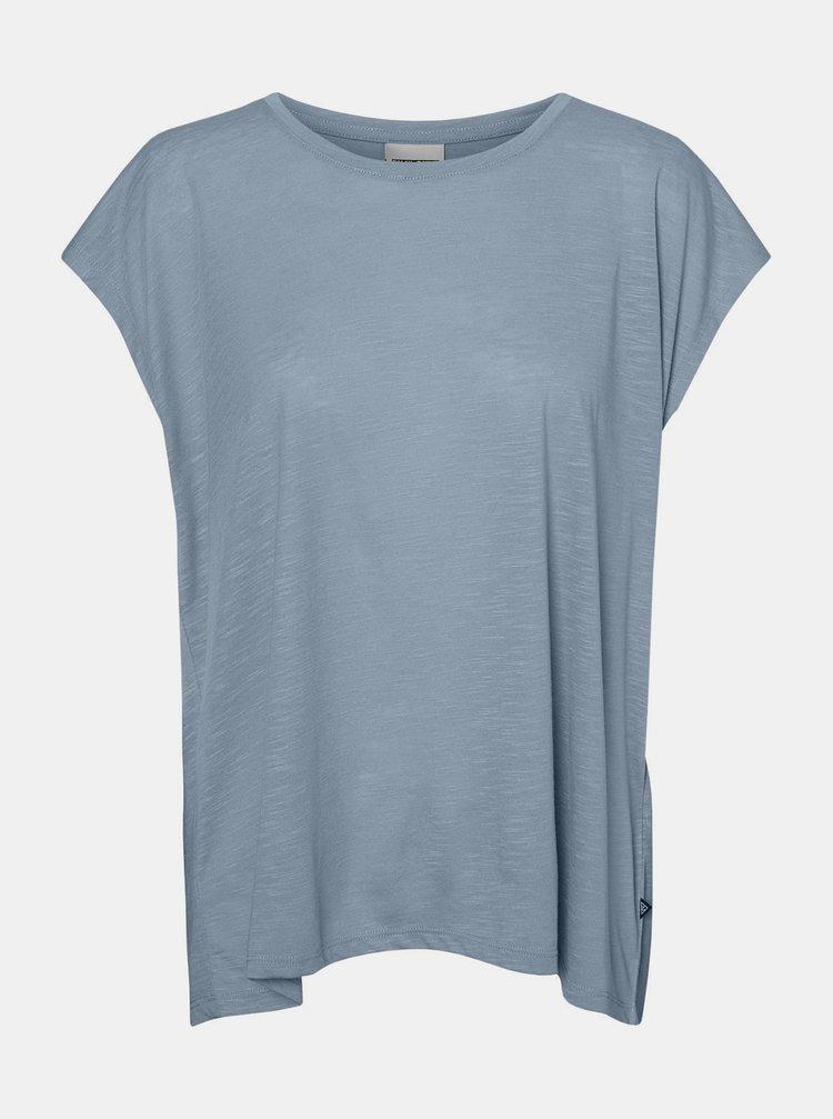 Světle modré tričko Noisy May Mathilde