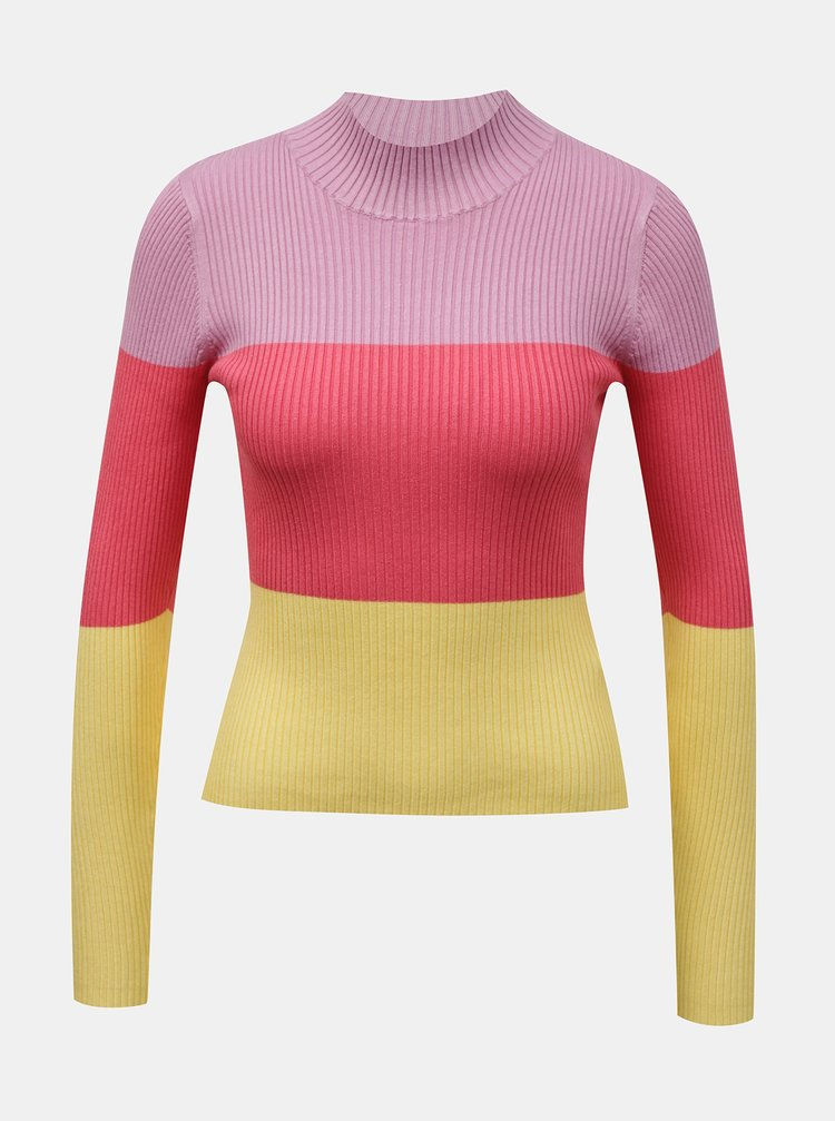 Žlto-ružový sveter TALLY WEiJL