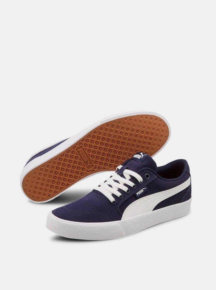Tmavě modré tenisky Puma