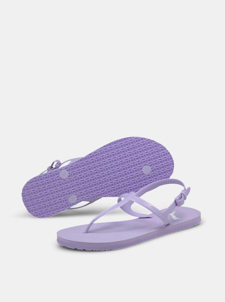 Fialové dámské sandály Puma