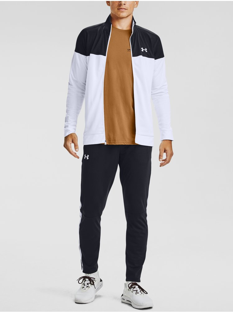 Bunda Under Armour SPORTSTYLE PIQUE TRACK JACKET - černá