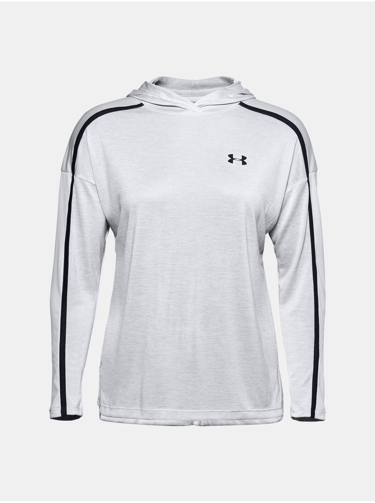 Mikina Under Armour Tech Twist Graphic Hoodie - šedá