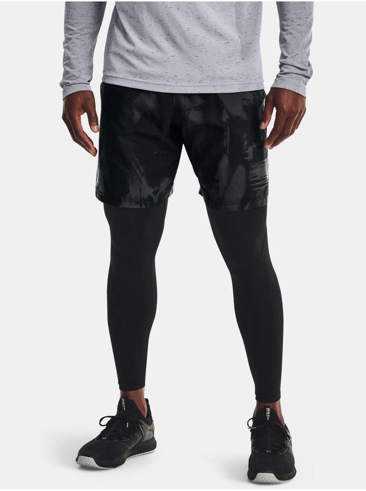 Kraťasy Under Armour Woven Adapt Shorts - černá