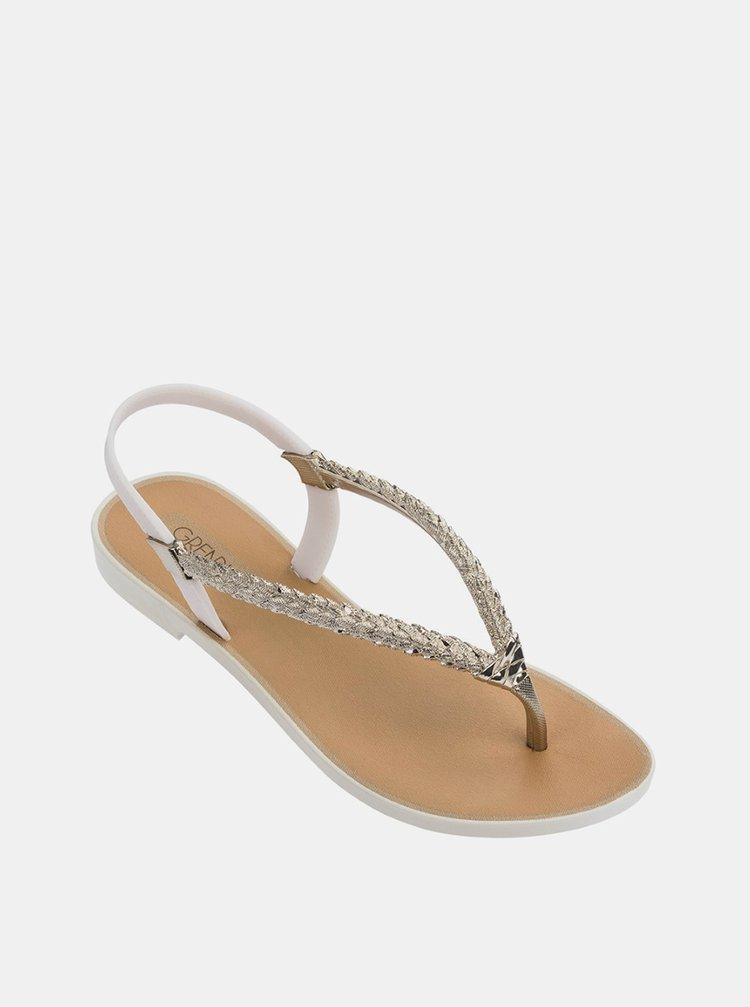Grendha béžové žabky Tropicalia Sandal Beige/Gold