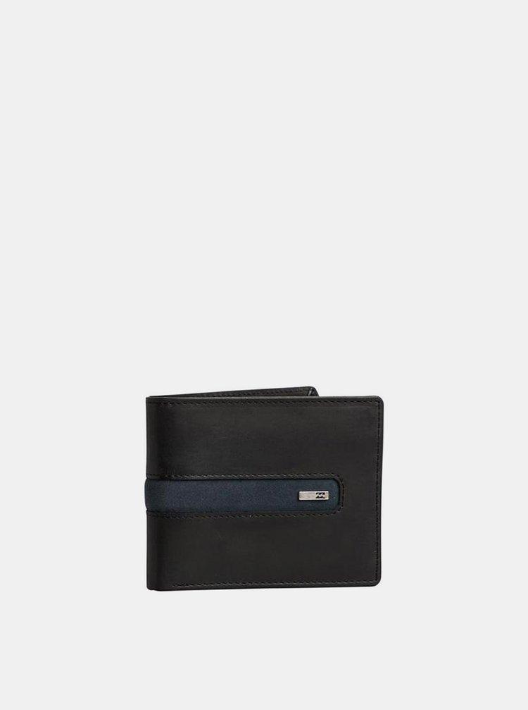 Billabong DBAH LEATHER black pánská značková peněženka - černá
