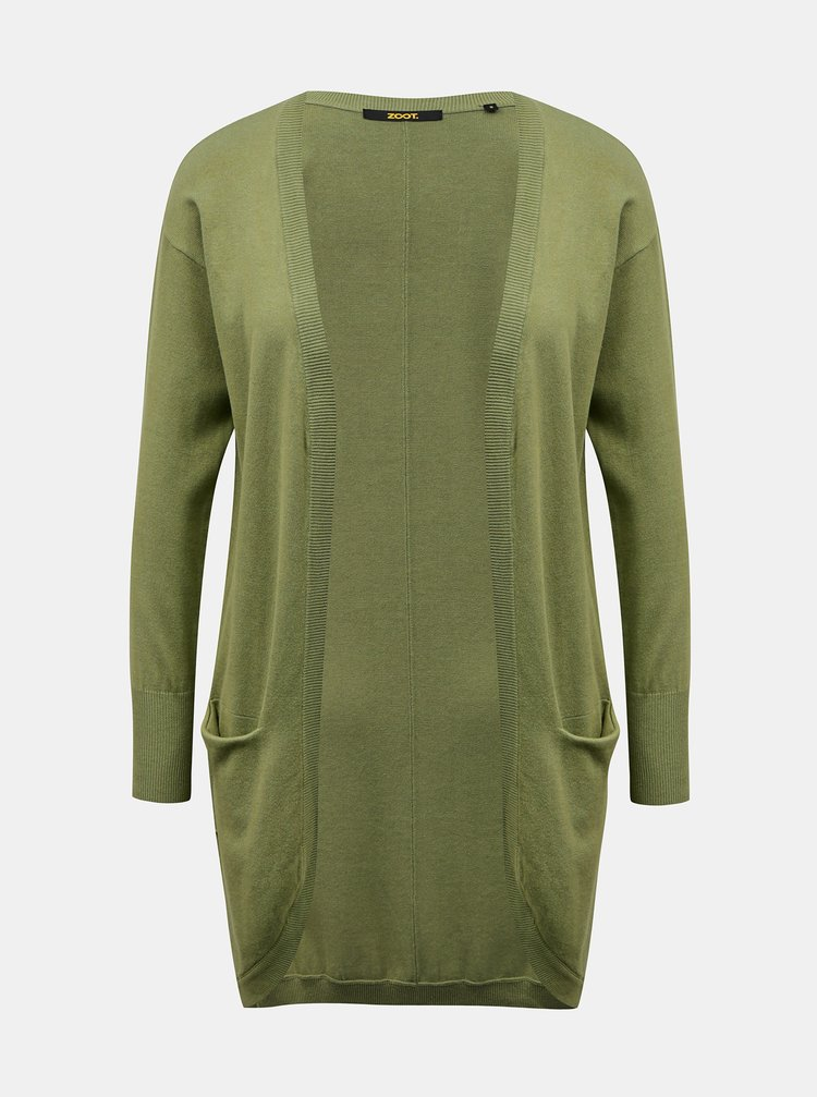 Zelený dámský kardigan s kapsami ZOOT Baseline Gita