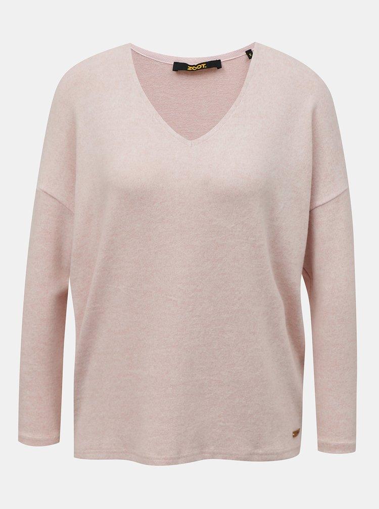 Světle růžový dámský svetr ZOOT Baseline Adelaide