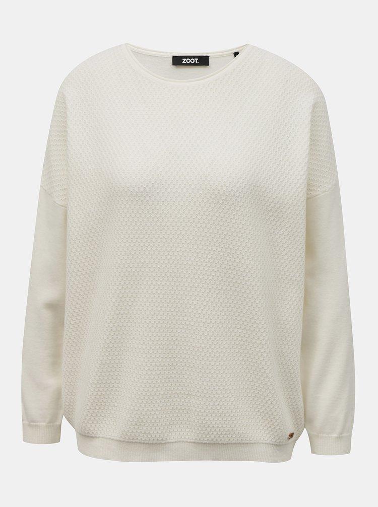 Bílý dámský svetr ZOOT Morgan