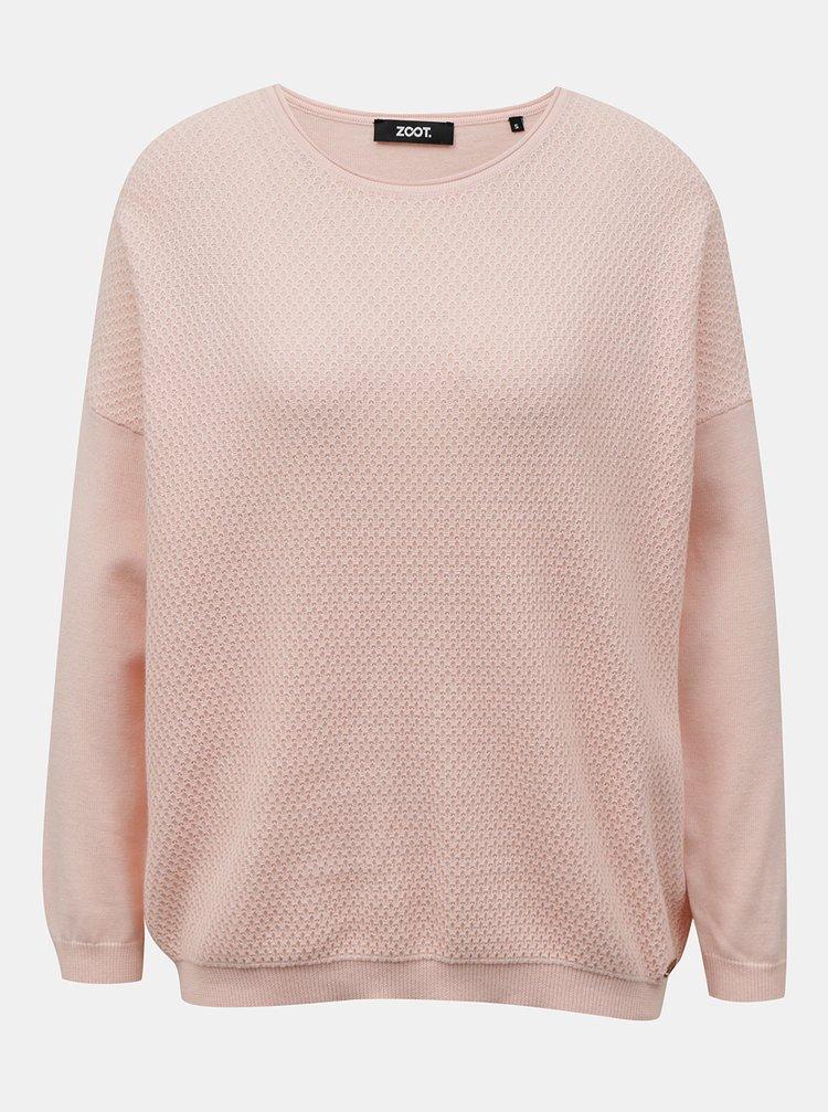 Světle růžový dámský svetr ZOOT Morgan