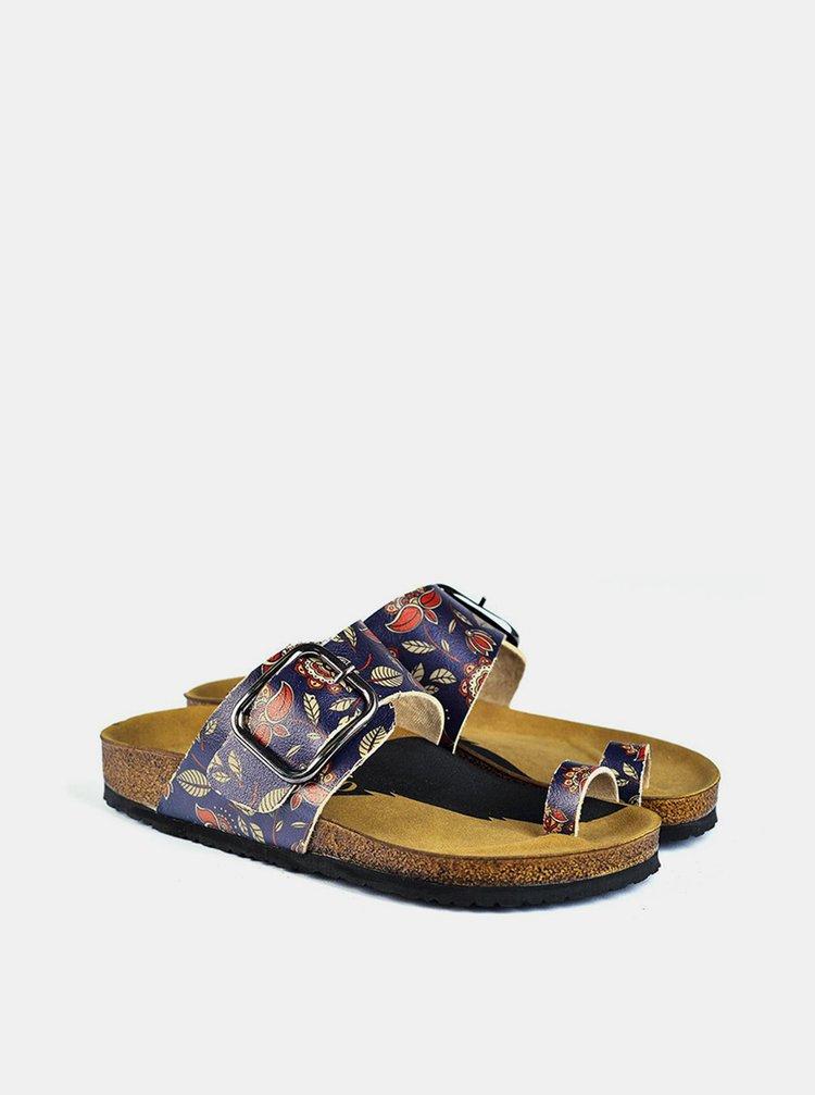 Calceo modré šľapky Thong Sandals Navy
