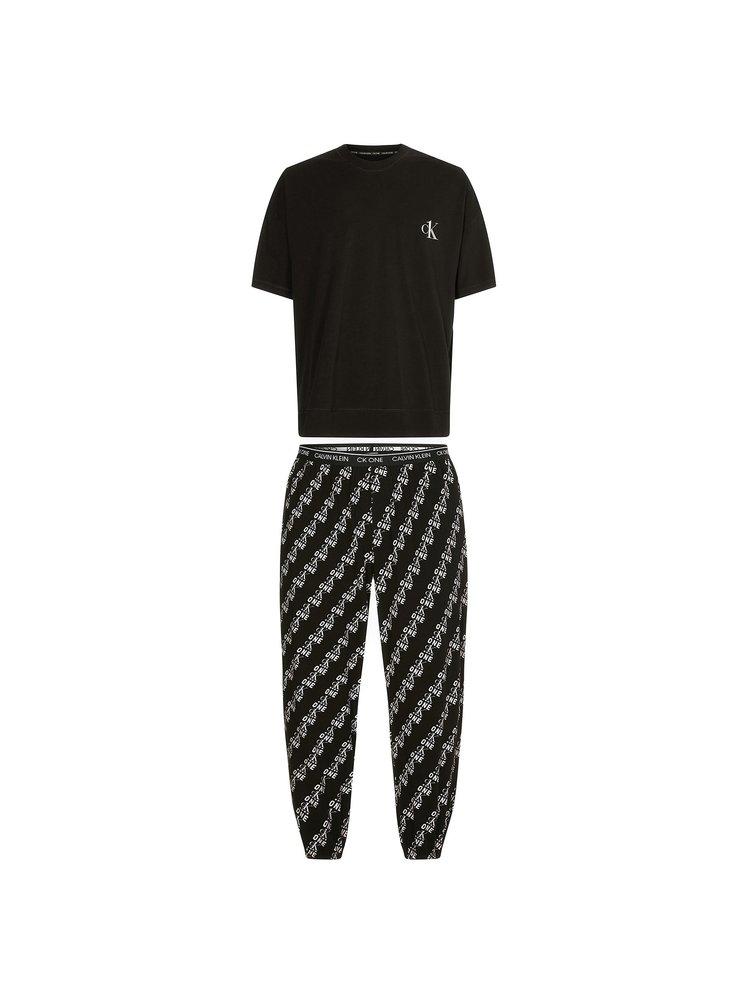 Pánské pyžamo Calvin Klein černé