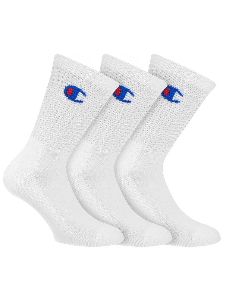 CHAMPION CREW SOCKS LEGACY 3x - Sportovní ponožky 3 páry - bílá