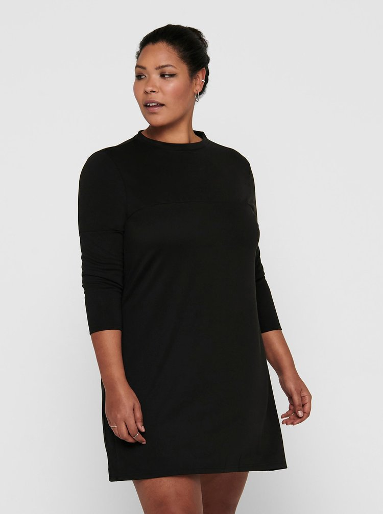 Čierne šaty ONLY CARMAKOMA Viol