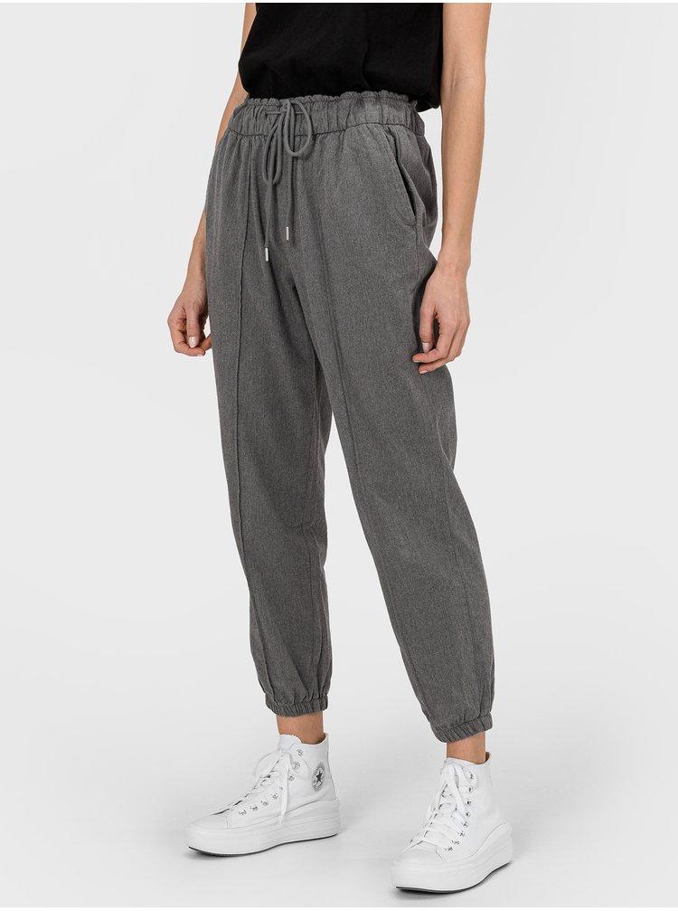 Šedé dámské kalhoty GAP