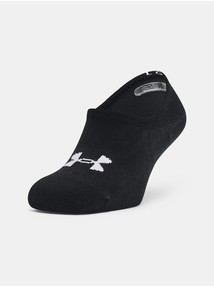 Ponožky Under Armour Core Ultra Low 3PK - černá