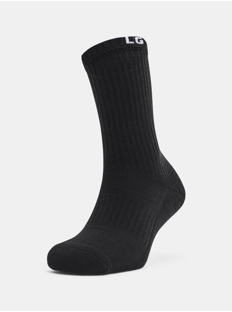 Ponožky Under Armour Core Crew 3PK - černá