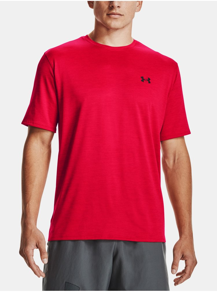 Tričko Under Armour Training Vent 2.0 SS - červená