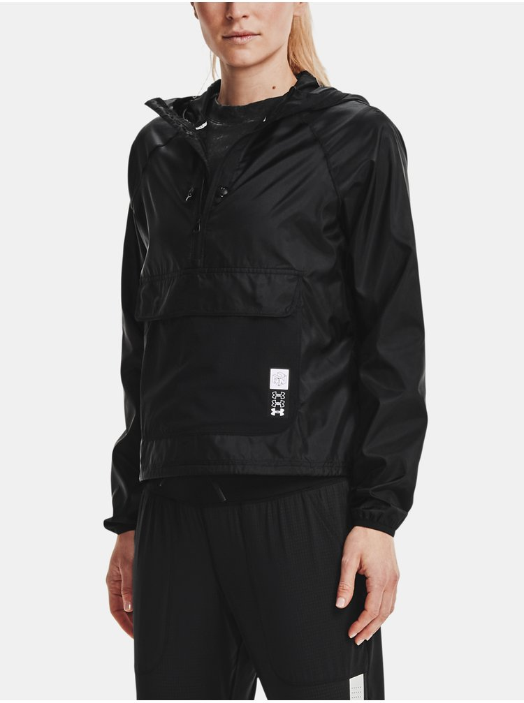 Bunda Under Armour Run Anywhere Anorak - černá