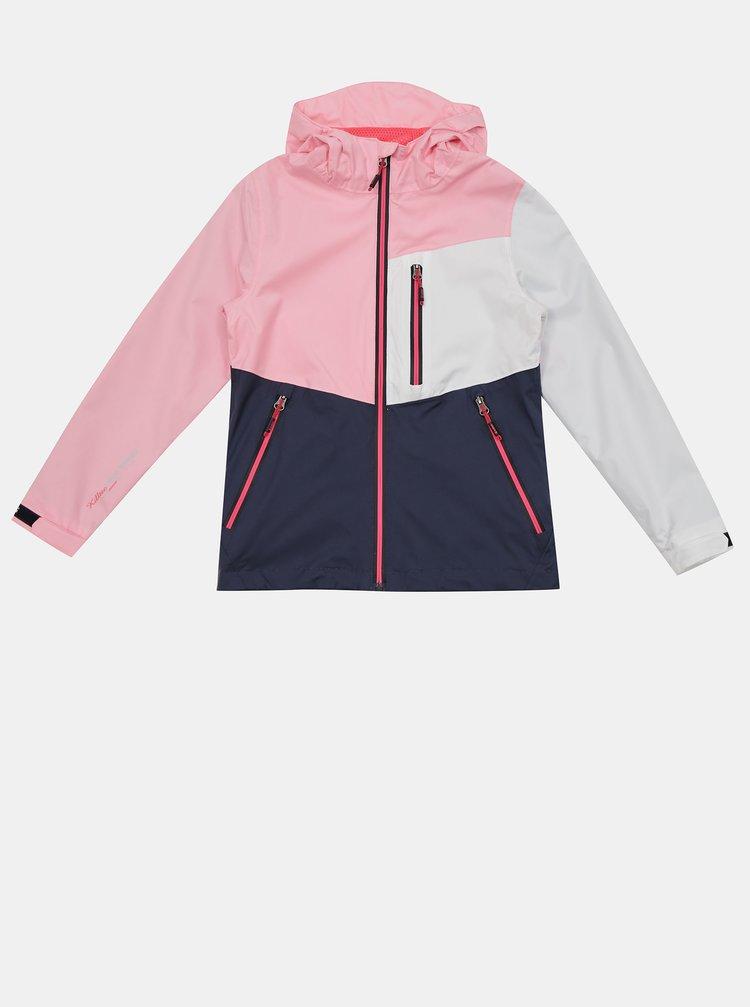 Ružová dievčenská bunda killtec