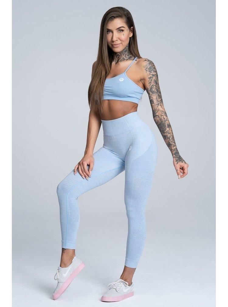 Legíny Gym Glamour Bezešvé Dream Blue