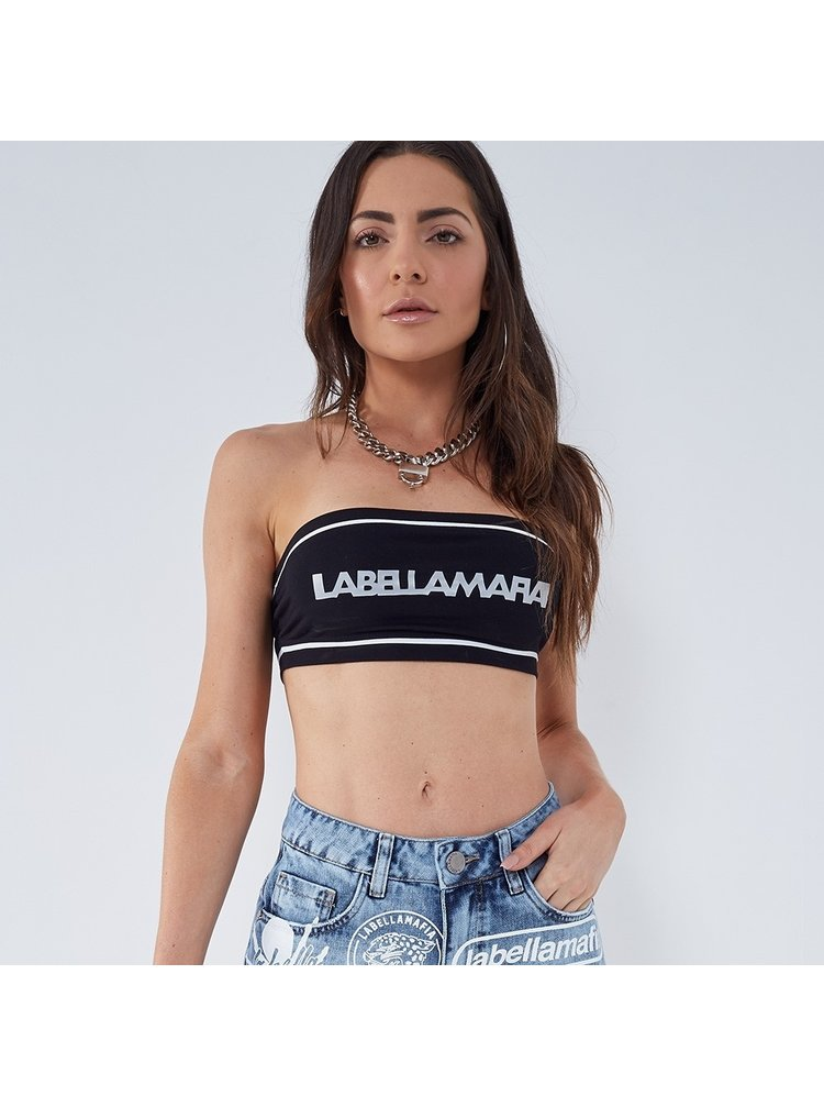 Labella Bandeau Black/White