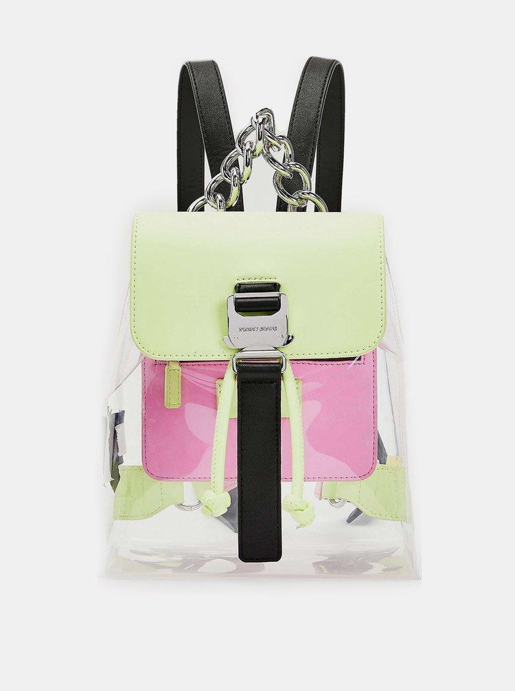 Tommy Hilfiger průhledný stahovací batoh TJW Item Backpack Fade