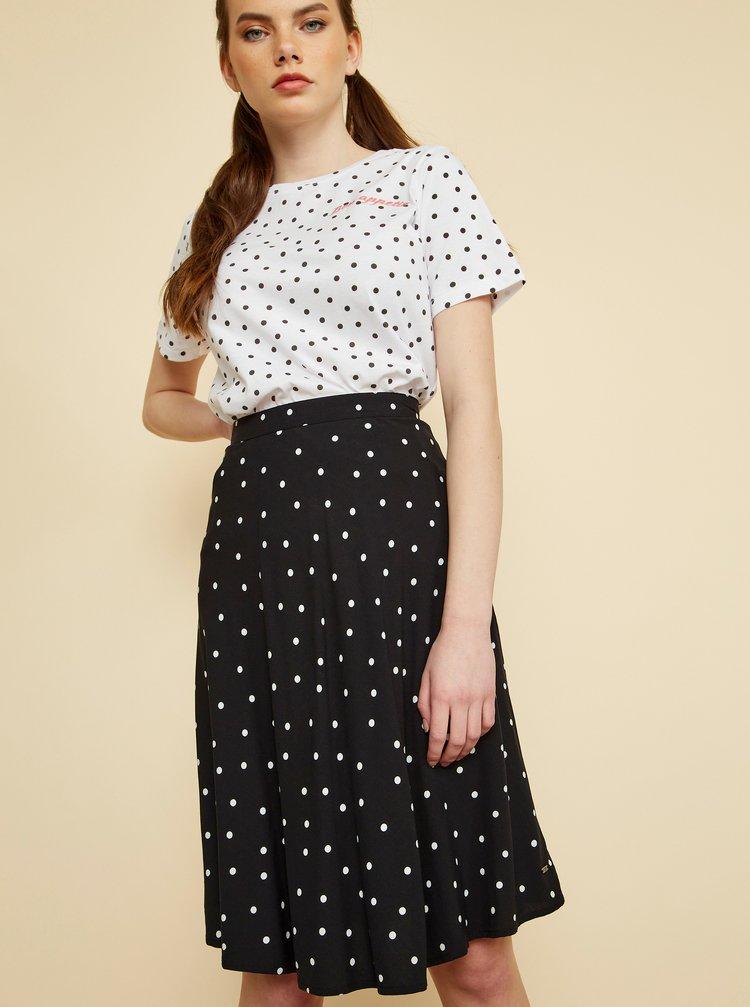 Černá puntíkovaná sukně ZOOT Baila