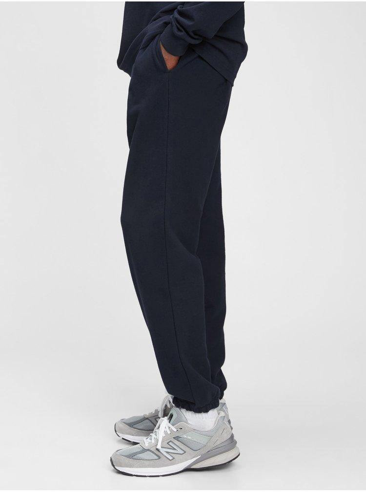 Černé pánské tepláky french terry joggers