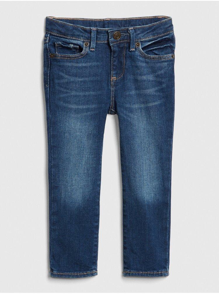 Modré holčičí dětské džíny skinny jeans with stretch