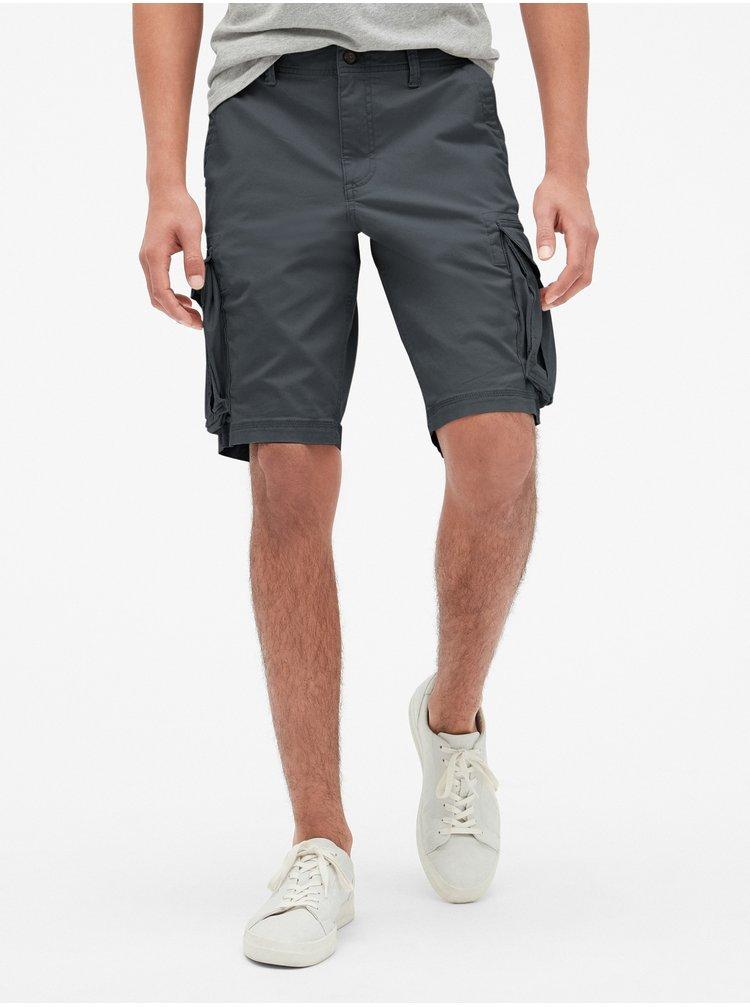 Černé pánské kraťasy 11 Twill Cargo Shorts with GapFlex
