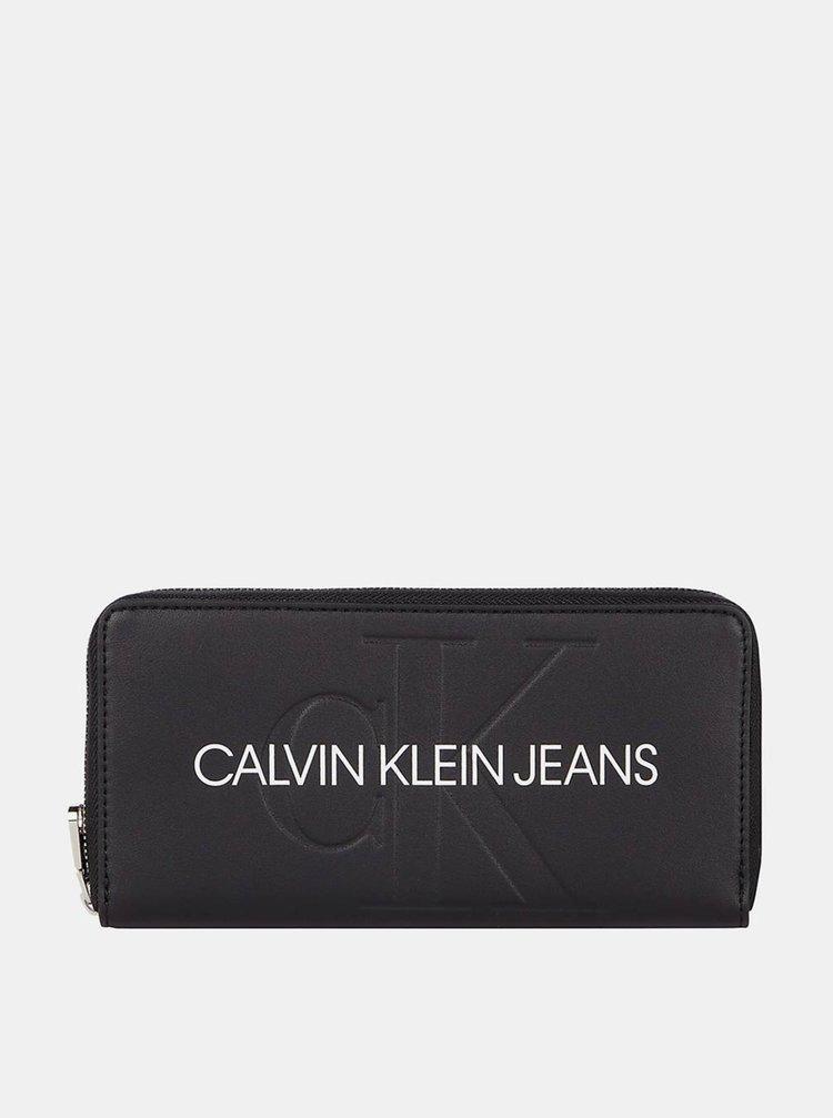 Calvin Klein černá peněženka Zip Around