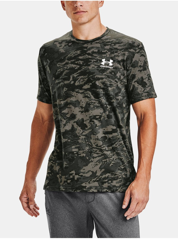 Tričko Under Armour UA ABC CAMO SS - zelená