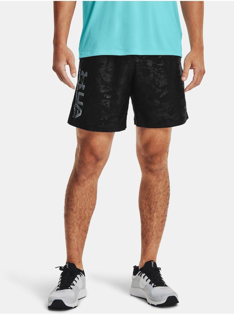 Kraťasy Under Armour UA Woven Emboss Shorts - černá