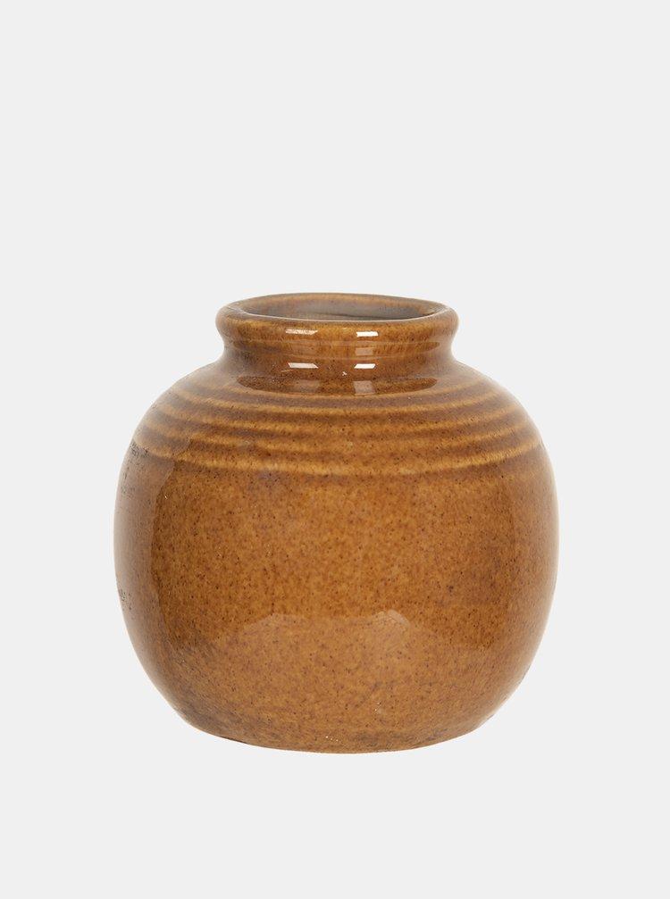 Hnědá váza Clayre & Eef