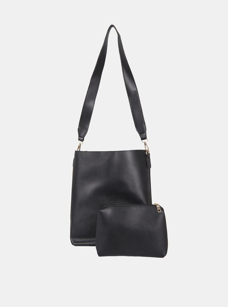 Černá kabelka s pouzdrem Clayre & Eef