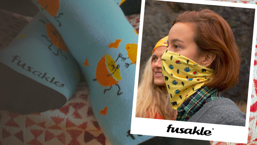 Fusakle: Čo na ponožkách, to na rúšku